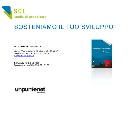scl consulenza urbino