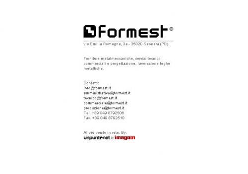 sito internet Formest