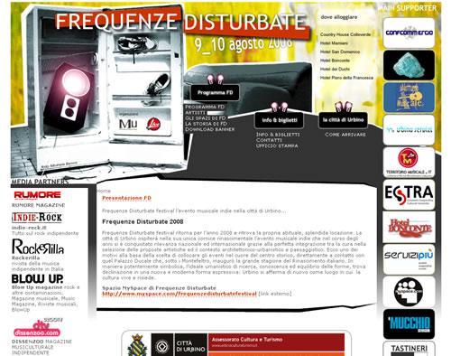 Frequenze Disturbate Festival Musicale