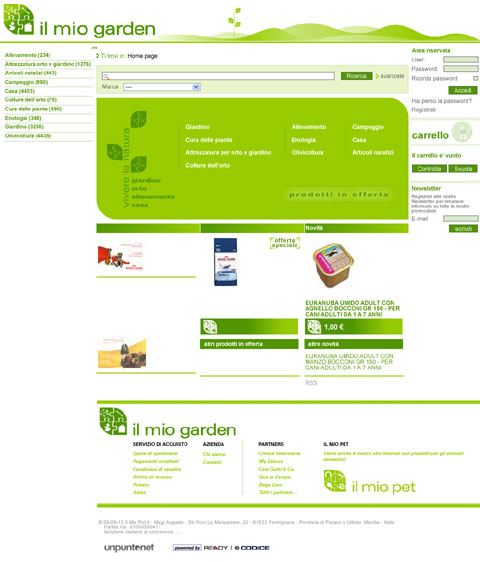 E-commerce Il Mio Garden