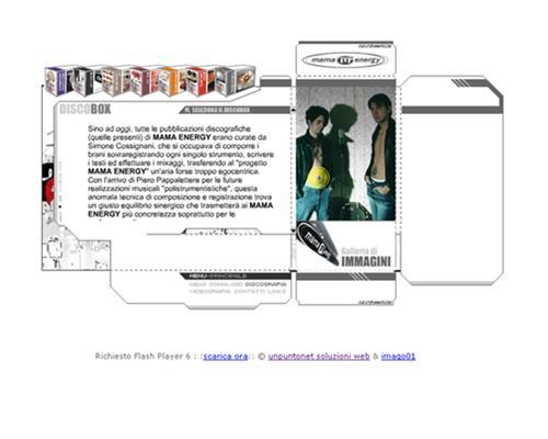 sito internet Mama Energy Simone Cossignani