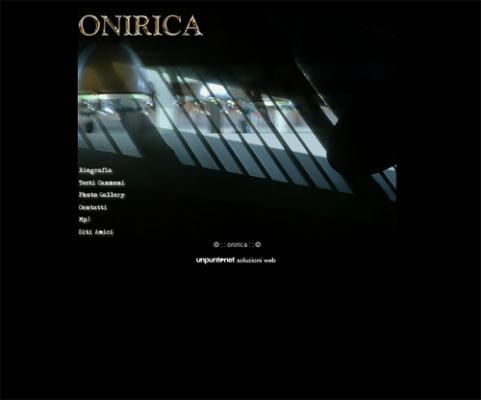 sito internet Onirica