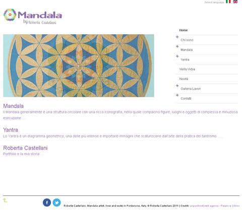 Castellani Roberta Mandala